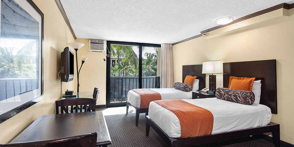 City View 1 Bedroom Suite with Kitchenette at Bamboo Waikiki Hotel