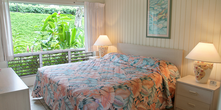 Bedroom at Castle at Princeville