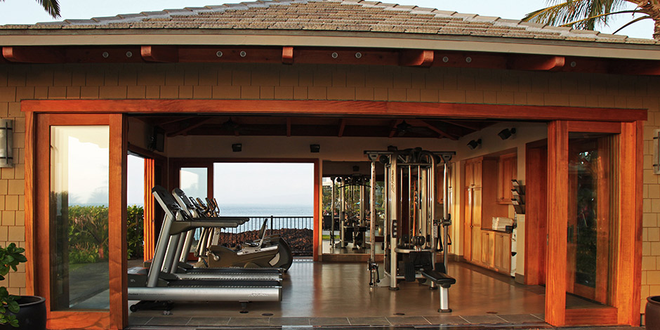 Fitness Cabana at Halii Kai at Waikoloa