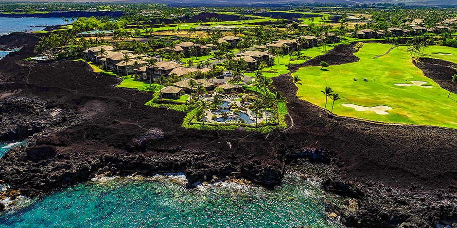 Aerial view of Halii Kai at Waikoloa