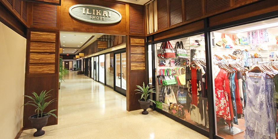 Shops at Ilikia Marina