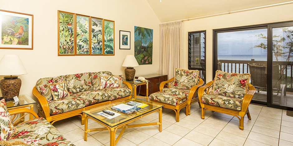 Interior at Kaha Lani