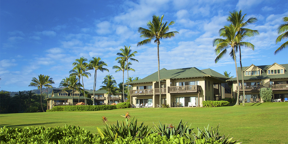 Exterior of Kaha Lani Resort