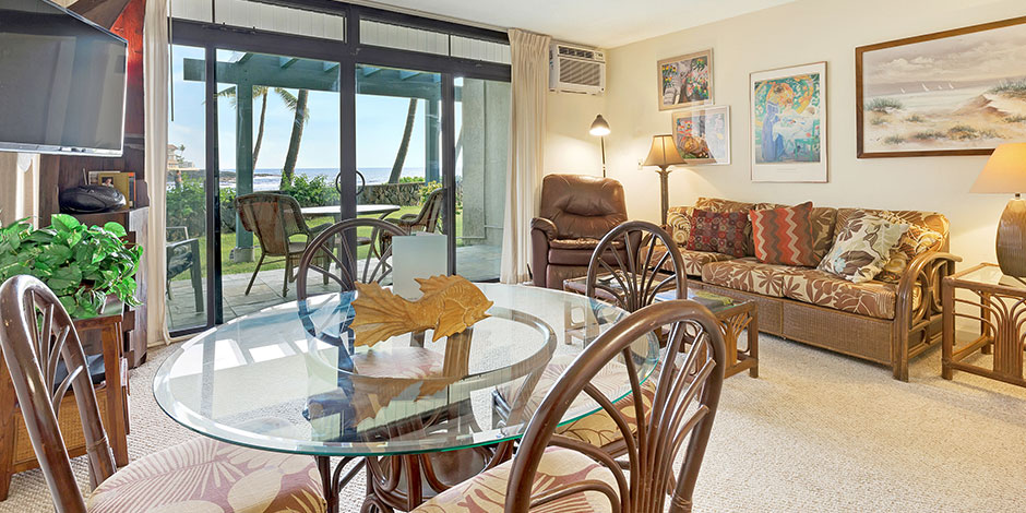 Interior view of Kona Reef Resort