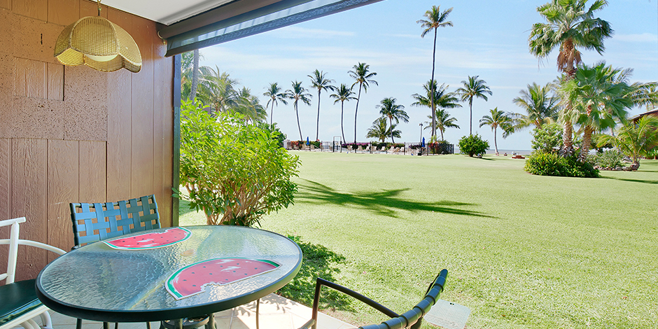 View from 1-Bedroom Ocean View at Molokai Shores