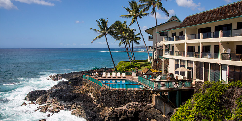 Exterior of Poipu Shores Resort