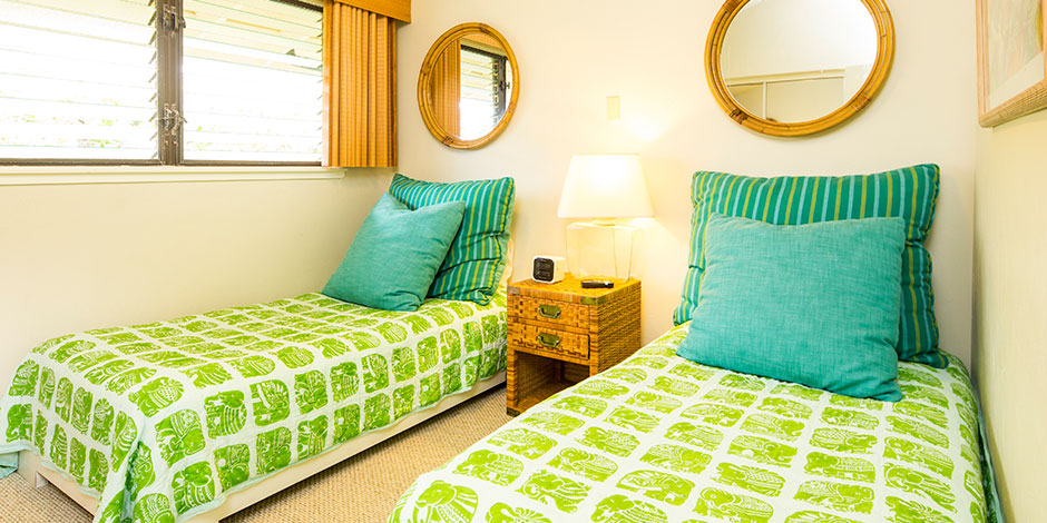 Interior room at Poipu Shores Resort