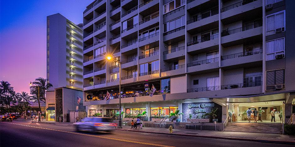 Waikiki Grand Hotel Exterior