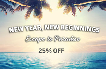 New Year New Beginnings, 25% Off