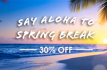 Spring Break Sale, 30% Off