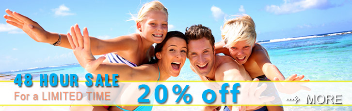 Book by August 19th and Save 20%.