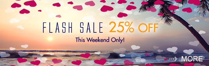 Enjoy 25% off this weekend when prepaying your stay.