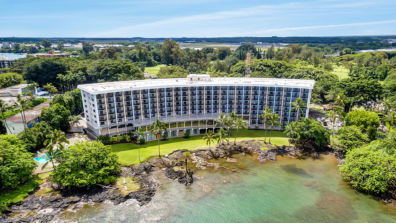 hilo oceanfront hotel hilo hawaiian hotel castle resorts