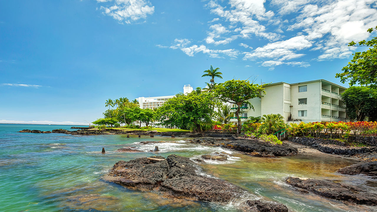 Affordable Hilo Hotel Pagoda Hilo Bay Hotel Castle Resorts