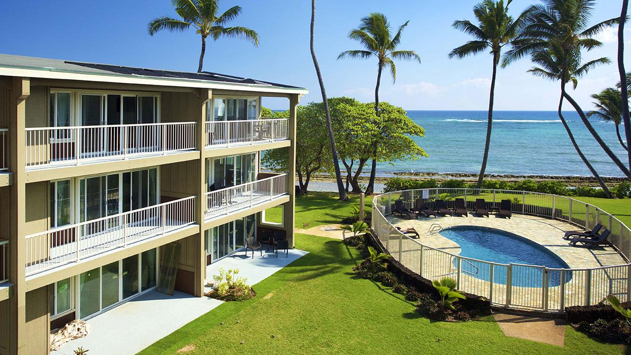 ^ Kapaa Vacation ondo Kauai Kailani astle esorts