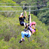 Zipline through paradise adventure Big Island