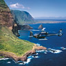 Helicopter tour West Maui and Molokai