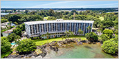 Hilo Hawaiian Hotel, the greatest hotel on the east coast Hawaii island