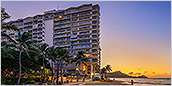 Waikiki Shore, the only oceanfront condominium in Waikiki.