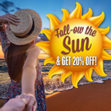 Fall-ow the Sun Sale - 20% Off