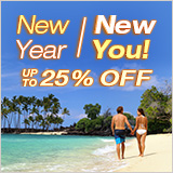 25% Off New Year's Sale