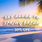 Spring Year Special - 30% Off