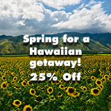 Spring Savings - 25% Off