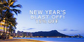 New Years Blast Off - 15% off